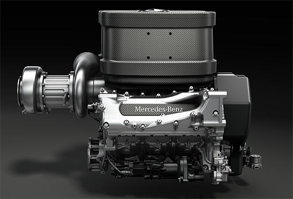 Motor Mercedes de 2014