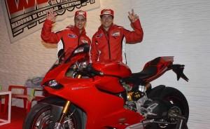 Andrea Dovizioso e Nicky Hayden
