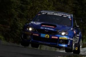 Subaru nas 24 Horas de Nurburgring