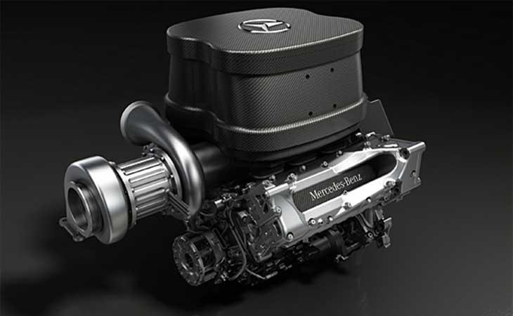 Os motores das equipes de fábrica e das clientes na F1