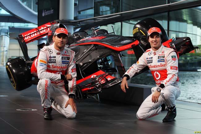 Button e Perez