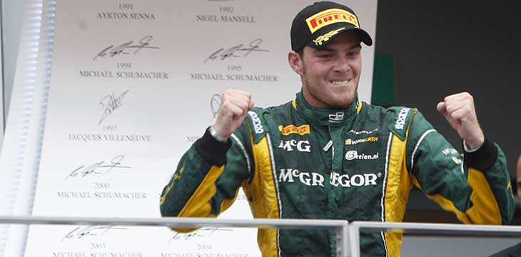 F1 – Caterham confirma van der Garde como titular