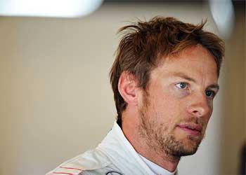 F1 – Button deposita esperanças em fim de semana chuvoso