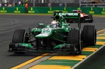 Equipe Caterham de Formula 1 de 2013 by autoracing.com.br