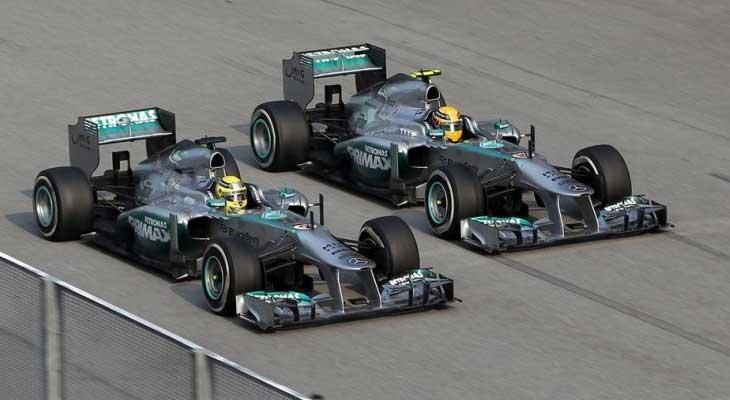 Equipe Mercedes GP de Formula 1 de  2013 - by autoracing.com.br