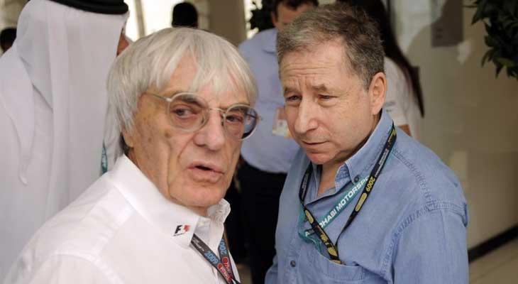 Bernie Ecclestone e Jean Todt