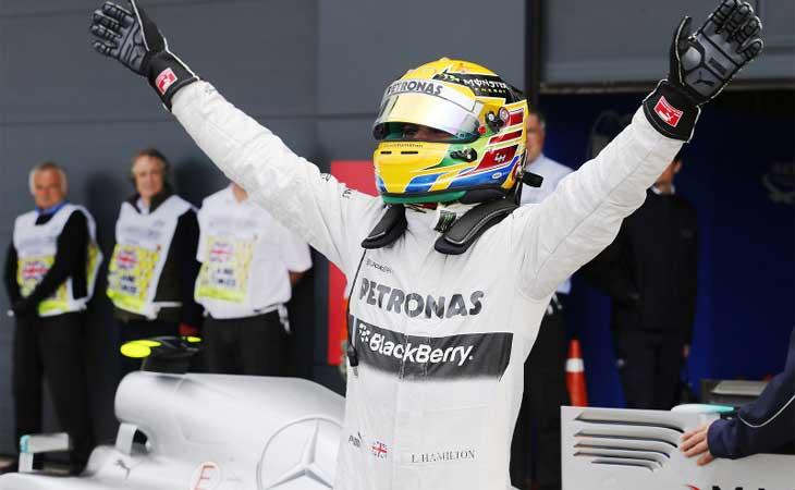 F1 – Hamilton conquista sua primeira vitória na Mercedes