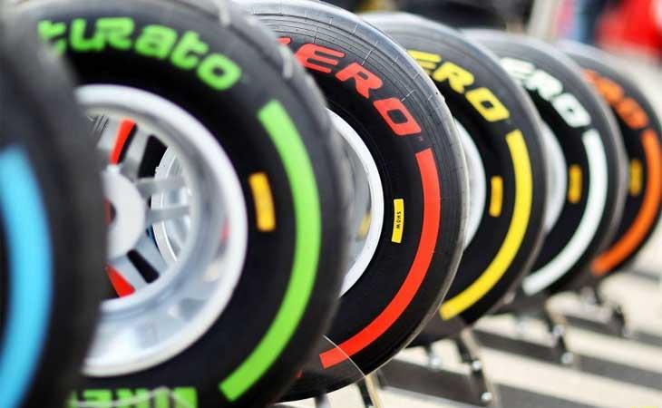 Pneus modernos  usados na Formula 1 by autoracing.com.br