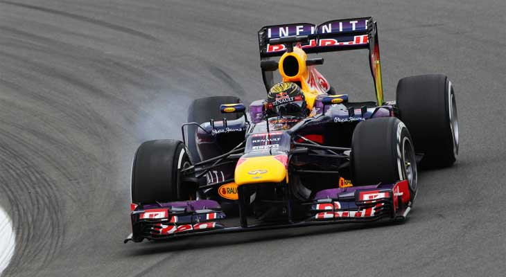 F1 – Vettel resiste à pressão de Raikkonen e vence na Alemanha