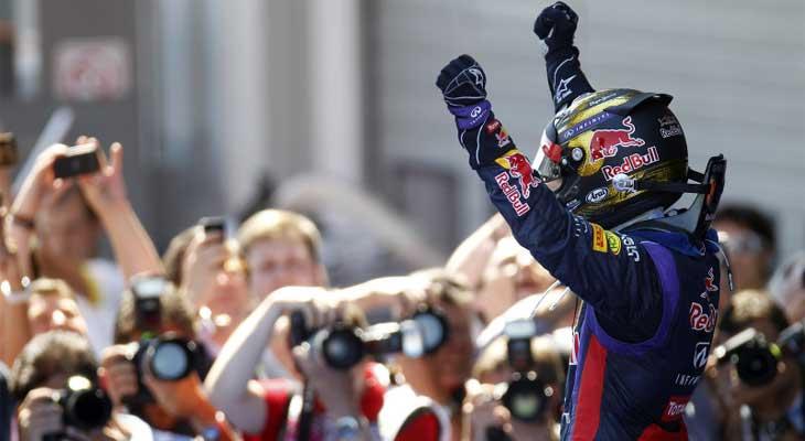 Tudo muda na F1, só não muda o domínio de Vettel. Por Lito ...