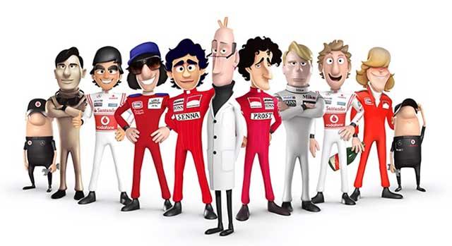 Tooned 50, a série animada da McLaren está de volta. Por ...