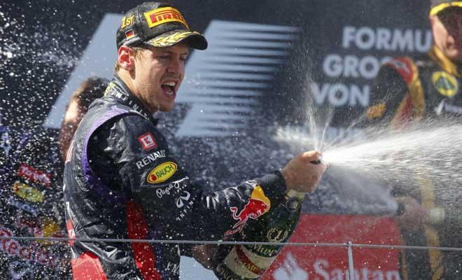 Sebastian Vettel - GP Alemanha 2013