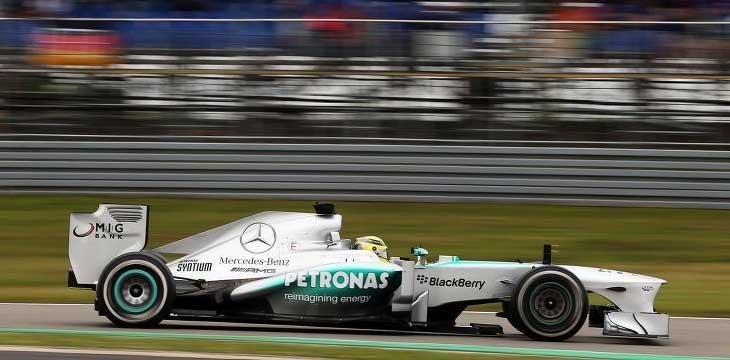 """F1 – Rosberg: """"Agressividade exagerada de Perez coloca os outros ..."""