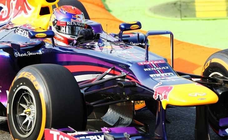 F1 – Vettel lidera dobradinha da Red Bull no grid em Monza
