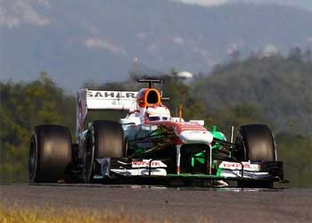 Paul di Resta na F1