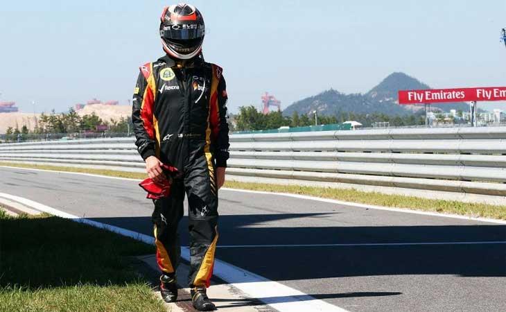 F1 – Kimi Raikkonen está fora das duas últimas etapas de 2013