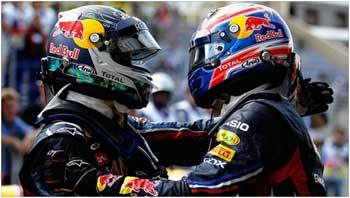 F1 – Vettel e Webber doam capacetes para leilão
