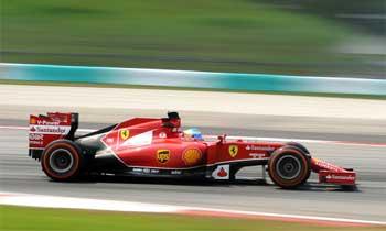 Alonso em Sepang 2014