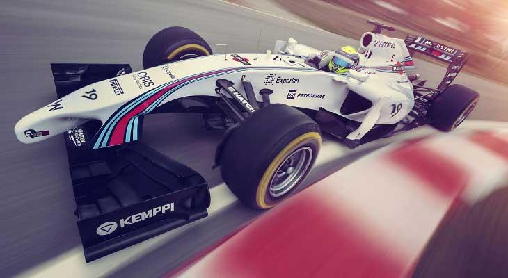 F1 – Williams apresenta pintura da Martini