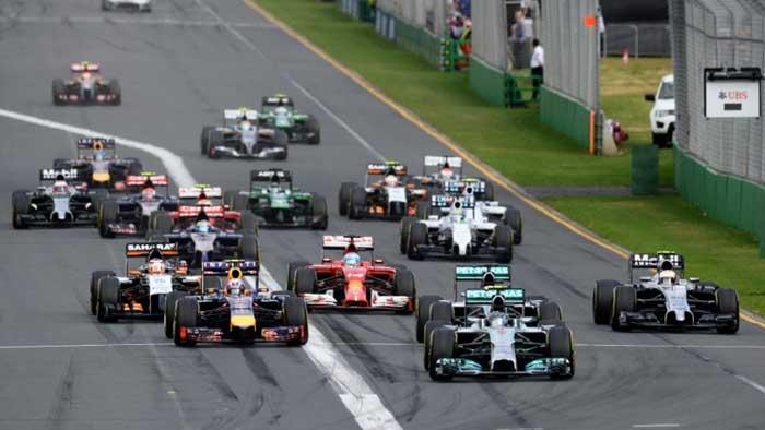 Largada GP da Austrália 2014