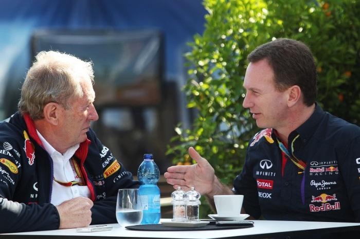 Helmut Marko e Christian Horner