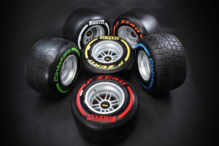 pneus f1