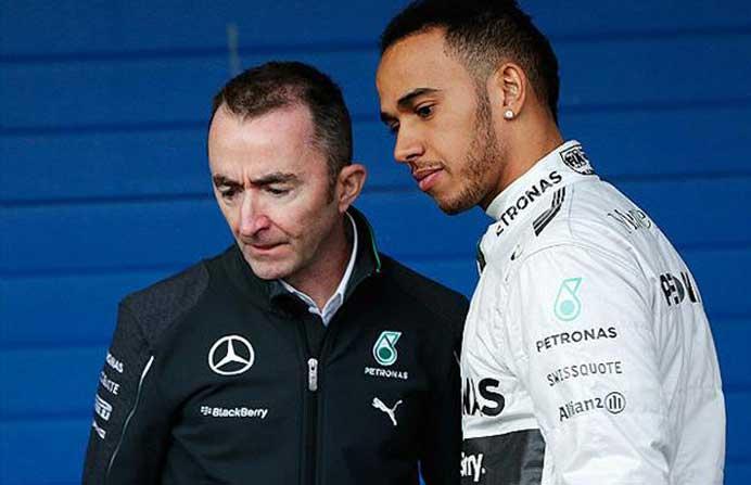 Paddy Lowe e Lewis Hamilton