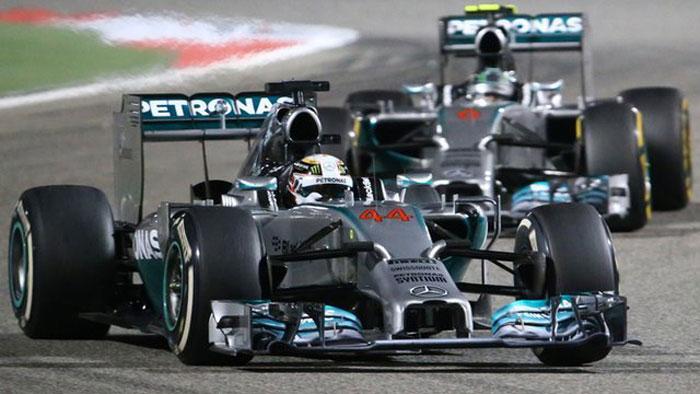 Hamilton x Rosberg - Bahrain 2014