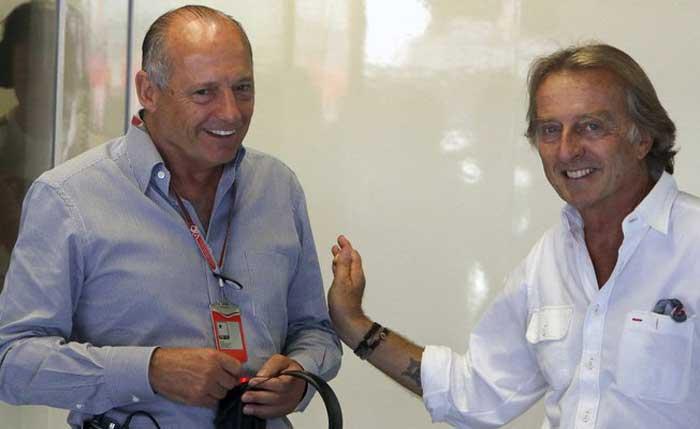 Ron Dennis e Luca di Montezemolo