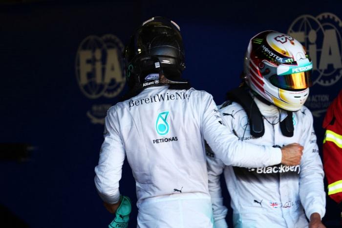 F1 – Desavença entre Hamilton e Rosberg começou na Espanha