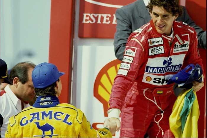 Michael Schumacher e Ayrton Senna