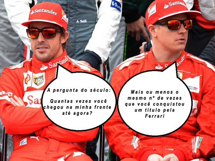 Fernando Alonso vs Kimi Raikkonen
