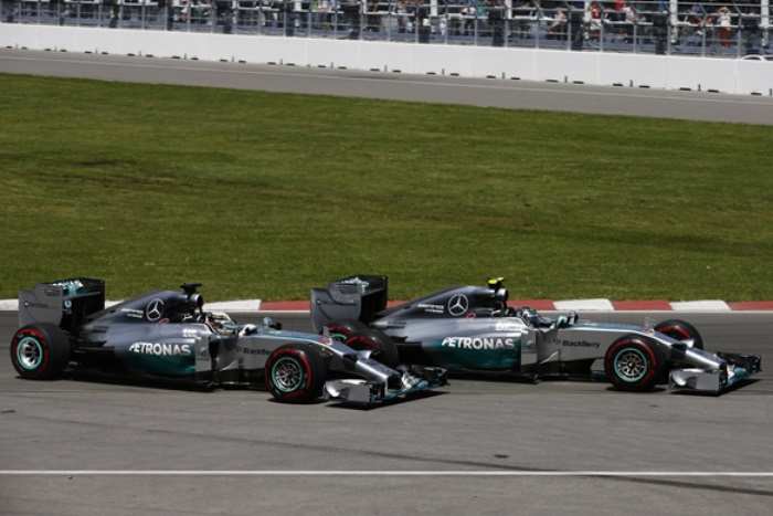 Hamilton vs Rosberg