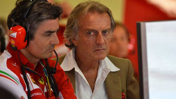 Marco Mattiacci e Montezemolo