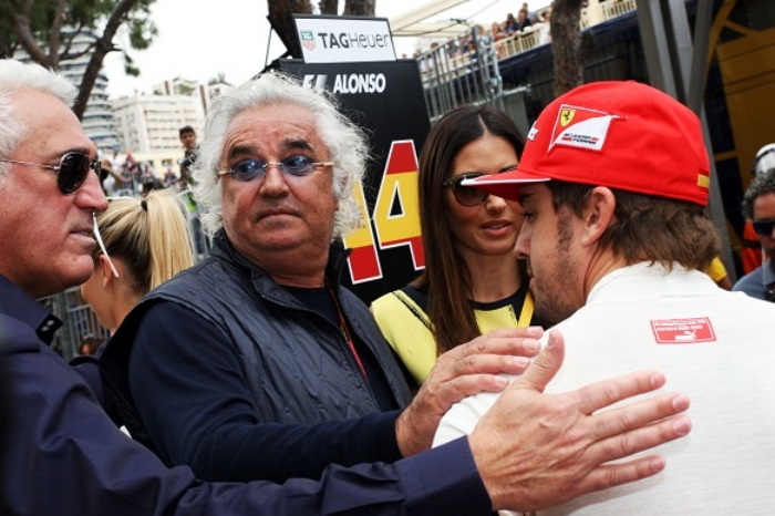Flavio Briatore e Fernando Alonso