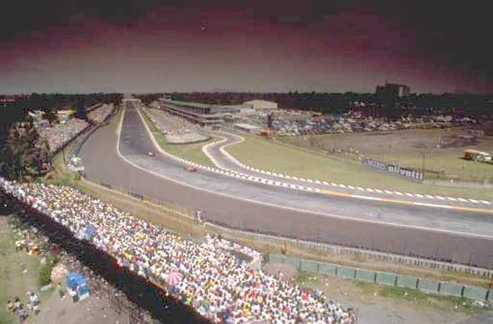 Curva Peraltada - Autódromo Hermanos Rodriguez, México