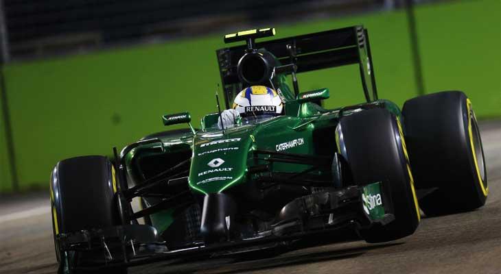 F1 – Caterham corre contra o tempo para enviar seus carros a Austin
