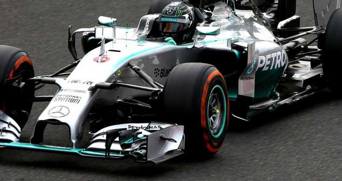 Nico Rosberg em Suzuka