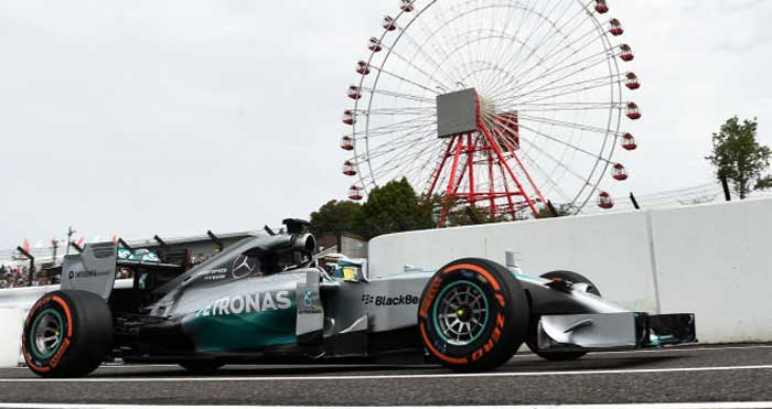 Lewis Hamilton em Suzuka