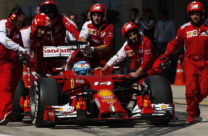 Fernando Alonso na Ferrari