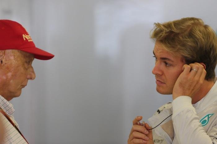 Niki Lauda e Nico Rosberg