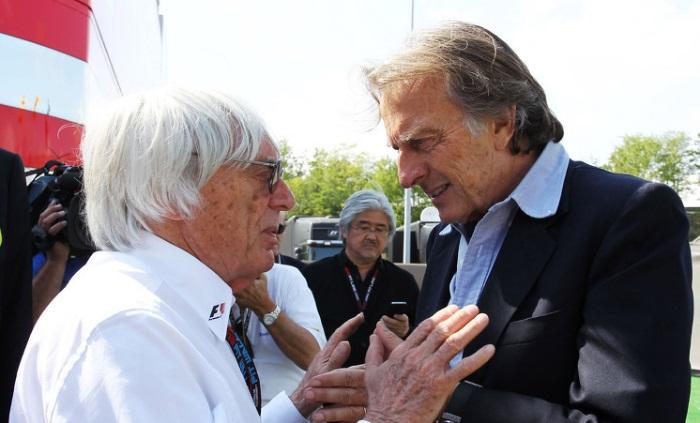 Bernie Ecclestone e Luca di Montezemolo