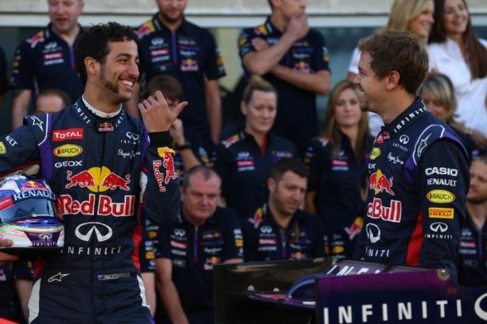 F1 – Ricciardo: Vettel mostrou que ele é humano