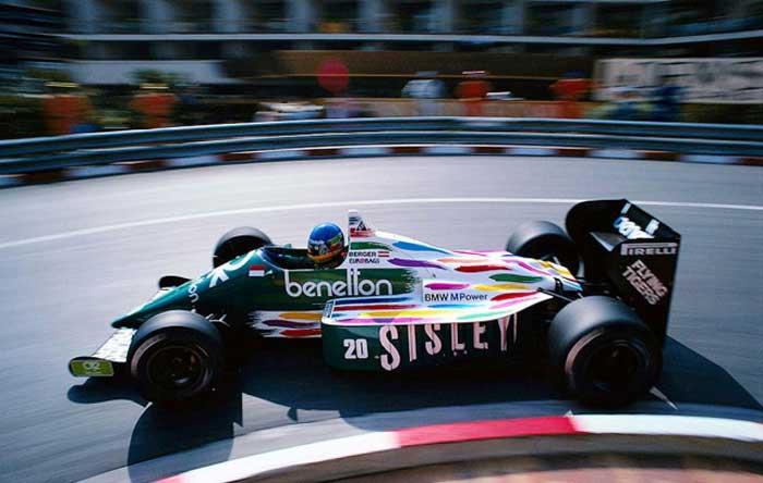 Benetton-B186-Monaco