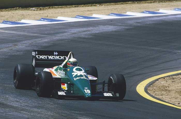 Benetton-B186