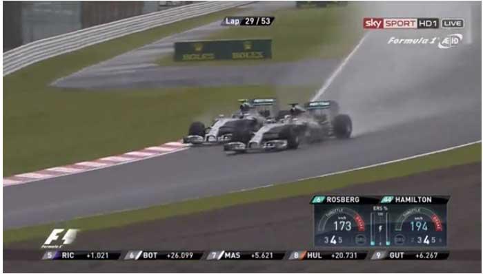Hamilton vs Rosberg em Suzuka