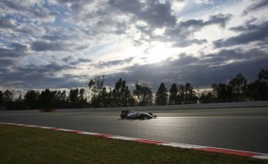 Testes da F1 em Barcelona