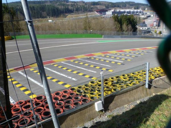 F1 – Spa altera área de escape na Eau Rouge e Raidillon