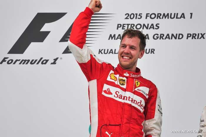 Piloto da Semana: Sebastian Vettel – GP da Malásia – 01/04/2015