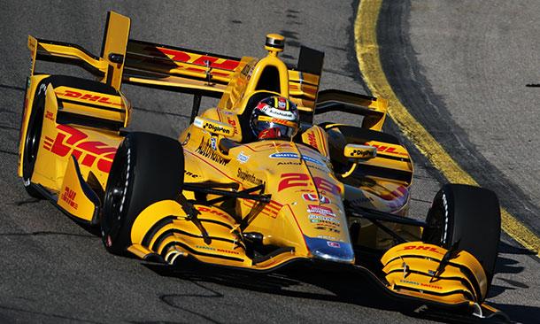 Indy – Ryan Hunter-Reay vence corrida cheia de acidentes em ...
